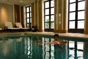 Watsu training at four seasons hang zhou